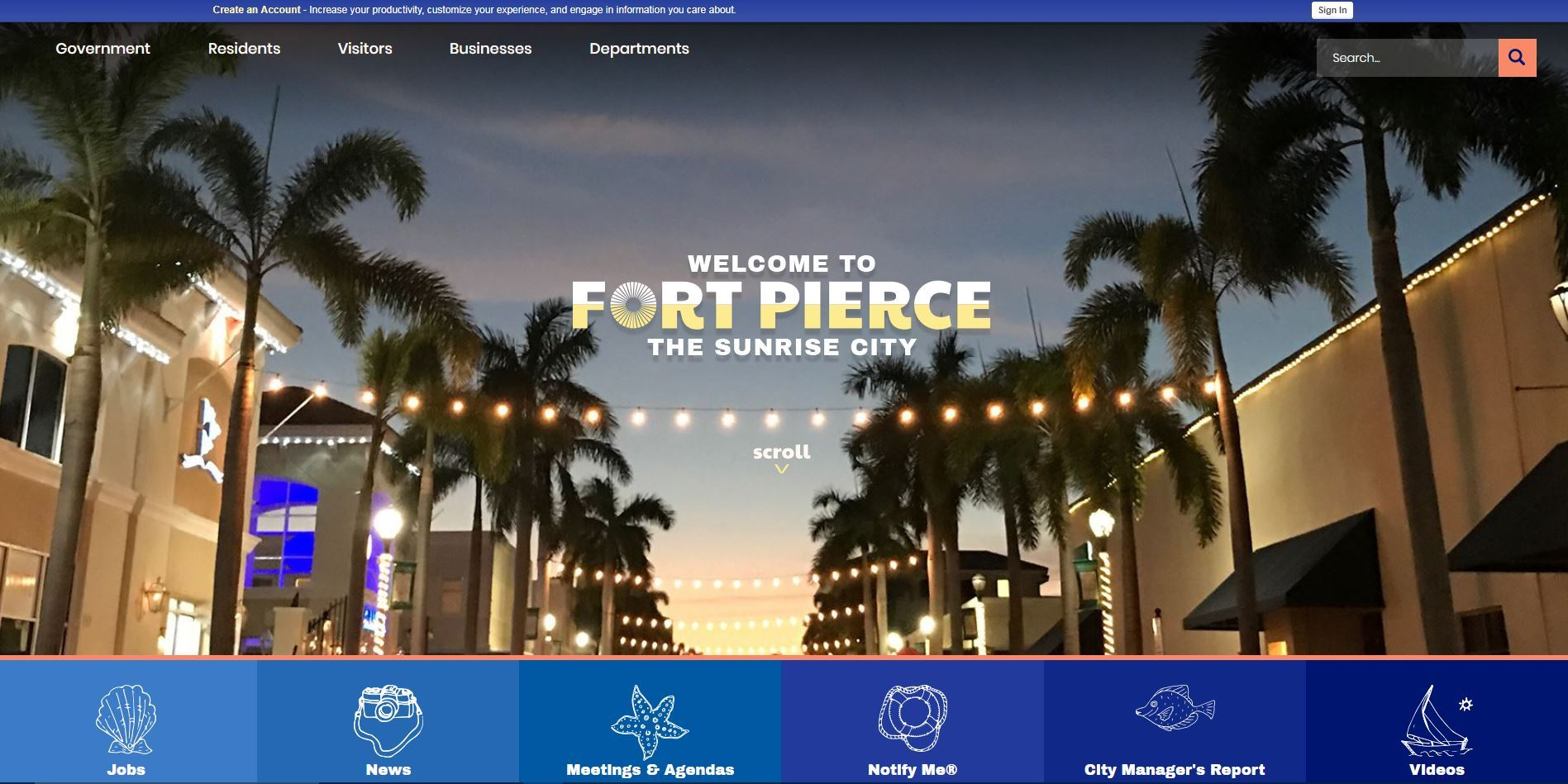 City of Fort Pierce Website
