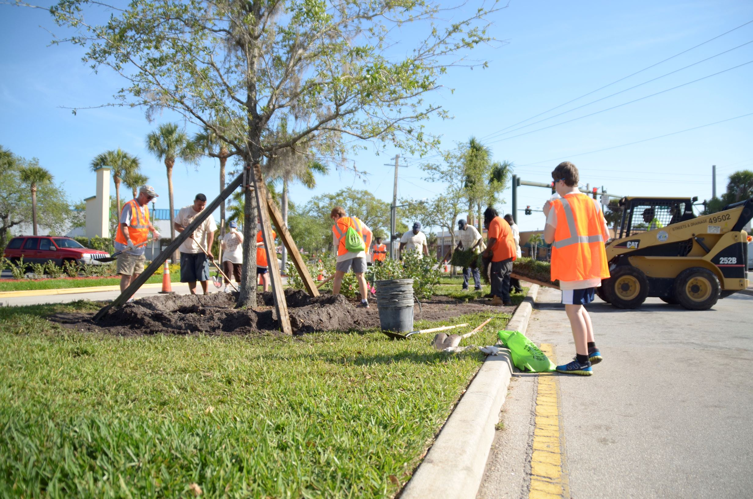 Great American Cleanup Sunrise Blvd