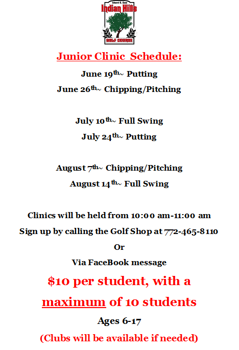 Junior Clinics