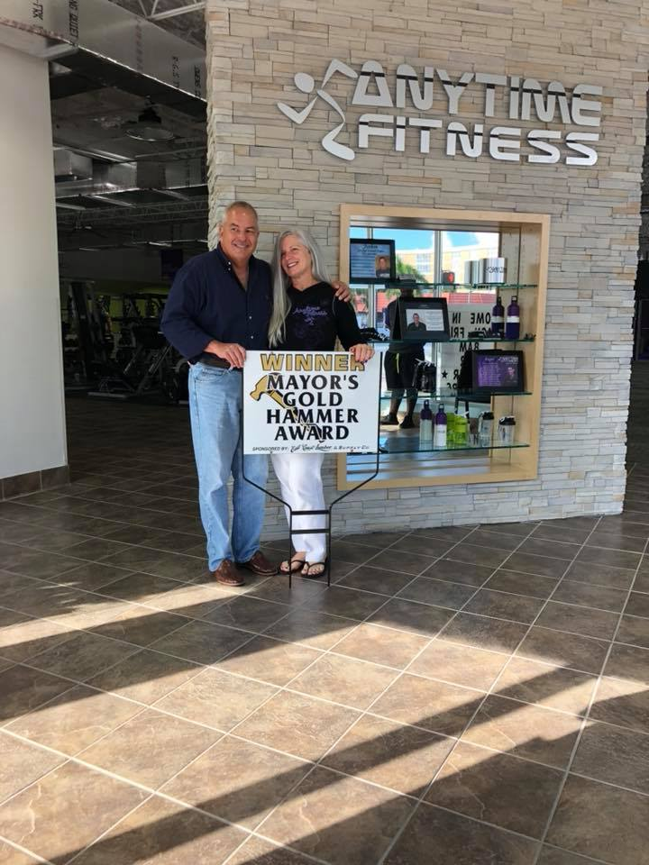 Gold Hammer Winner Anytime Fitness 2018