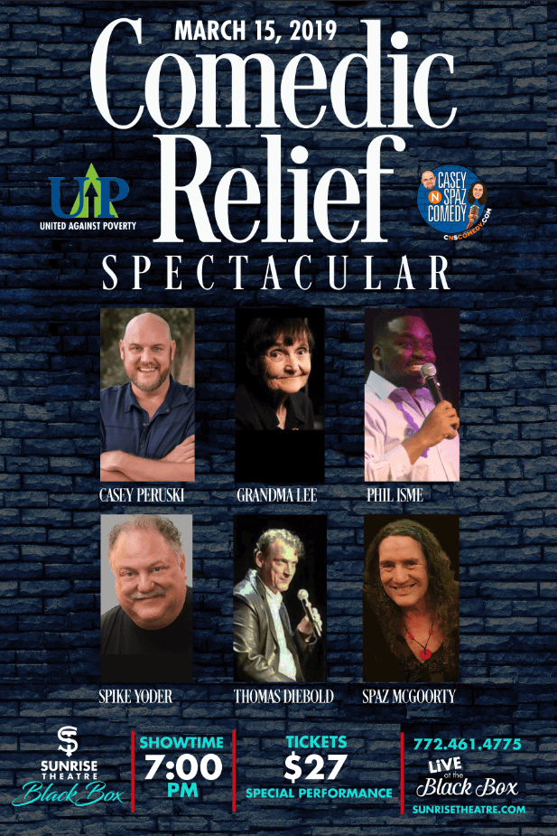 Comedy Corner Presents- Comic Relief a Benefit for UNITED AGAINST POVERTY of SLC
