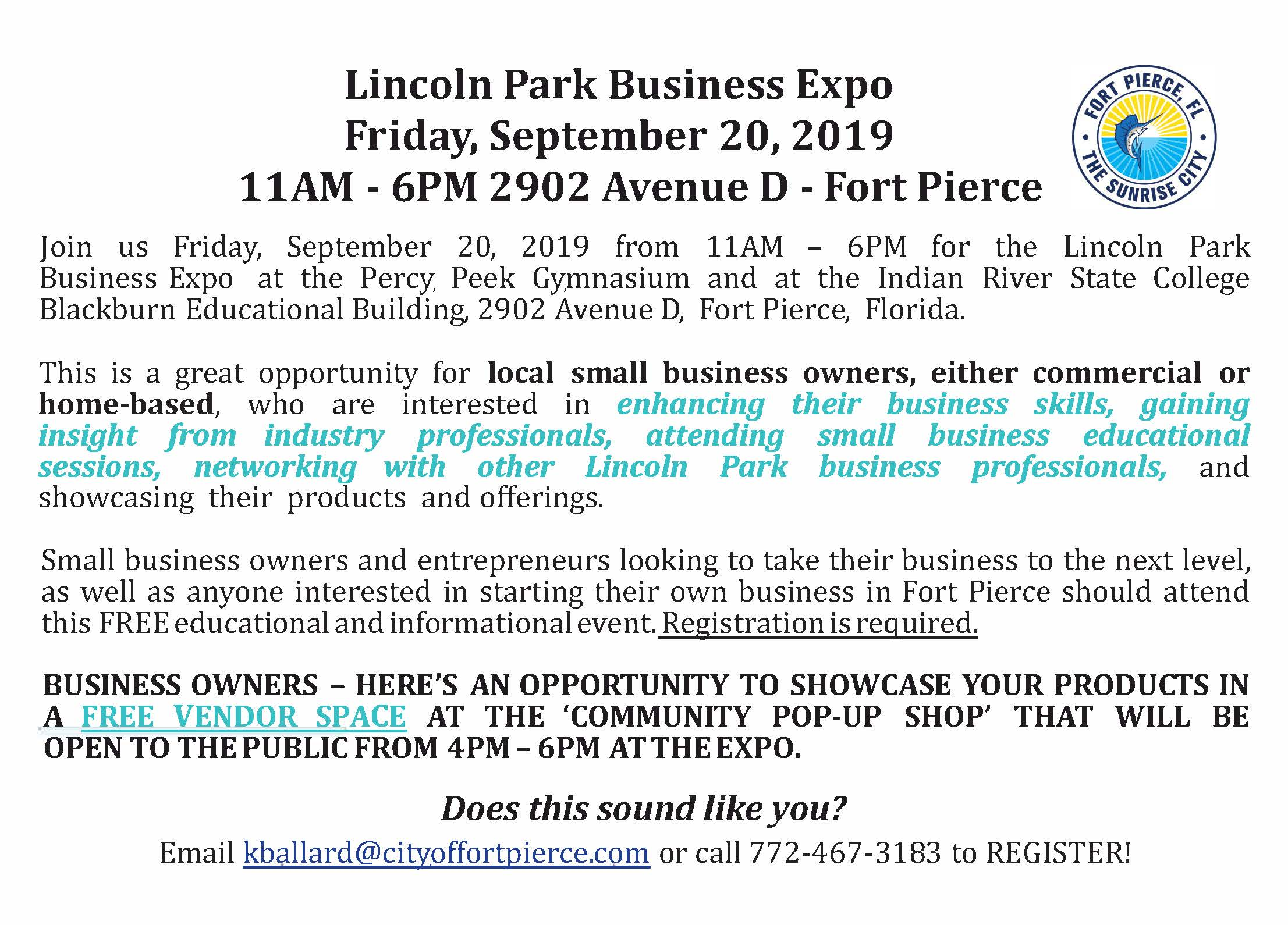 2019 Lincoln Park Business Expo 9.20.2019