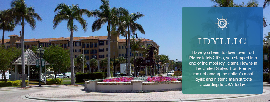 Downtown Fort Pierce ranked most idyllic according to USA Today